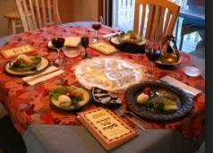 An Empty Chair at the Seder