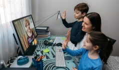 Crossing the Digital Divide:  How Grandparents and Grandkids can Connect Remotely