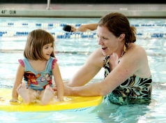 Use Pool Time to Build Speech, Language and Motor Skills